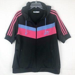 Adidas I Short Sleeve Hooded Jacket